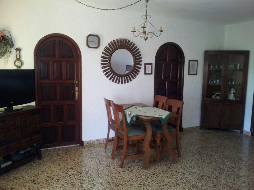 Wohnzimmer mit Flachbildfernseher Internet Wifi Wlan Cala Ratjada