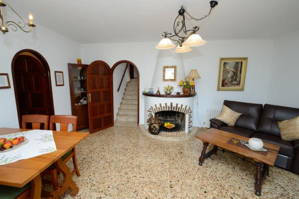Wohnzimmer Ferienhaus Cala Ratjada