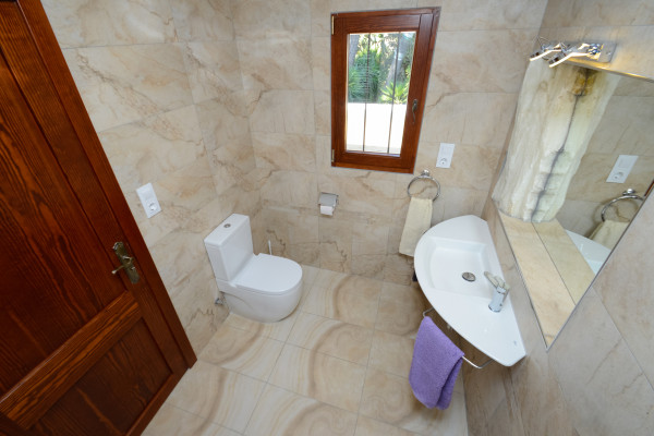 Modernes Badezimmer Ferienhaus Cala Ratjada